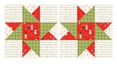 Nancy Zieman The Blog - June 2021 NZP Block of the Month: Star of Hope Merry Little Christmas, Plaid Christmas, Christmas Candy, Cut Block, Christmas Writing, Nancy Zieman, Half Square Triangles, Block Of The Month, Pattern Blocks