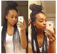 hairstyles homecoming hairstyles into a bun hairstyles guys updo hairstyles for black hair 2018 hairstyles long hairstyles for 4 year olds braid hairstyles hairstyles buns # long Braids african american Braided Hairstyles Updo, African Braids Hairstyles, Protective Hairstyles, Hairstyles With Bangs, Protective Styles, Braided Updo, Hairstyles Games, Hairstyles 2018, Kinky Twist Styles