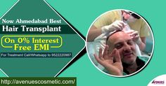 Avenues Clinic is the Best Hair Transplant & Cosmetic surgery clinic in Ahmadabad.Dr Kinnar Kapadia is one of most renowned Hair surgeon in Ahmadabad. Avenues clinic has excellent staff and services & provide micro detail of hair fall causes, baldness problems & thinning reason. We assure you best hair restoration & transplant technique like Latest FUE technique which provide best result.