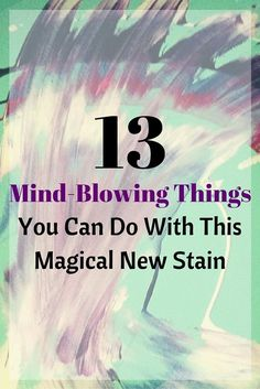 13 Mind-Blowing Things You Can Do With This Magical New Stain - Unicorn SPit – This new stain will in spire your next furniture makeover - Refurbished Furniture, Paint Furniture, Upcycled Furniture, Furniture Projects, Rustic Furniture, Furniture Making, Furniture Makeover, Furniture Refinishing, Furniture Outlet