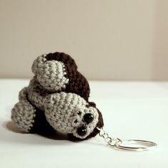 Key - gorilla / Amigurumi gorilla / Szydełkowy goryl #gorilla #amigurumi #amigurumis #animals #szydełkowanie #crochet