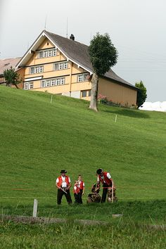 Appenzeller countryside , Switzerland
