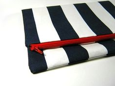 Oversized Nautical Clutch by bungalola on Etsy - StyleSays