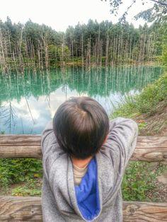 Travelling with my baby... Biei, Hokkaido, Japan