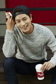 """Hong Jong Hyun - my favourite moment in Running Man is when they're doing a mission at a swimming pool and Ji Hyo """"accidentally"""" falls off the platform with her arms wrapped around Jong Hyun's neck who happened to be in the water right there.. I bet that was her most enjoyable elimination ever... they even put an old 50's song for the background... awesome.."""