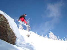 Snowboarding Steamboat Springs, Colorado!