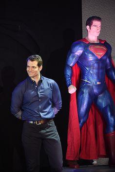 Henry Cavill News: Wrap: 'Batman v Superman' World Tour Launch in Beijing