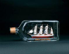 木製帆船 ボトルシップ 日本丸