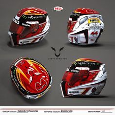 Same design, in a 3D helmet! #lh44design #lh44 #helmet #design #contest #hamilton #mercedes #petronas #amg #formula1 @lewishamilton