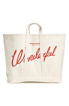 Best Made Co '100lb Coal Bag' Canvas Tote | Nordstrom