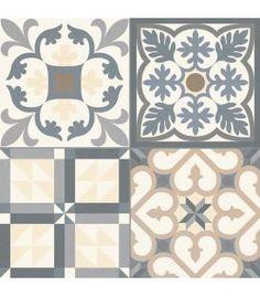 carrelage en grés imitation carreau ciment 20/20 … | tile | Pinte…