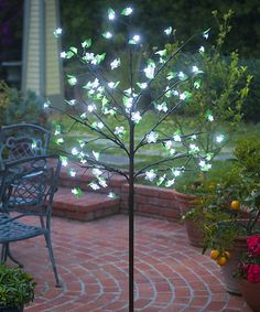 Loving this White LED Tree on #zulily! #zulilyfinds