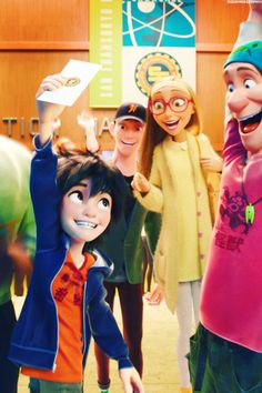 How tadashi looks at Hiro. All proud
