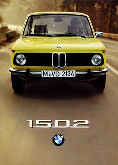 '72 BMW 1502 cytryneczka