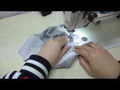2.고무줄고정하기,허리벨트에고무줄넣기 #미싱의여왕 #미싱의여왕 #불펌금지 밴드검색:미싱의여왕 - YouTube Sewing Projects
