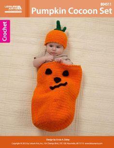Pumpkin Cocoon Crochet ~ free pattern