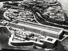 Climat de France in Algiers, by Fernand Pouillon – SOCKS Residential Architecture, Modern Architecture, Urban Design Diagram, Building Contractors, Civil Engineering, Urban Planning, Urban Landscape, The Neighbourhood, Places To Visit