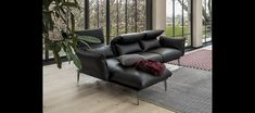 Merlino | | cierre living in leather Couches, Sofas, 2017 Design, Chrome Plating, Merlin, Seat Cushions, Recliner, Upholstery, Relax