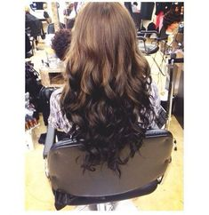 reverse ombre hairstyles for dark hair - Google Search