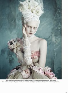 Dolce & Gabbana Alta Moda by Luigi + Iango for Vogue Germany April 2014