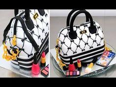 (78) How To Make a Fashion HANDBAG Cake by Cakes StepbyStep - YouTube