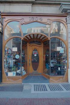 Felix Shoe.  Ladies, if you love beautiful shoes like I do, you NEED a good cobbler!  Mass. Ave., Cambridge.
