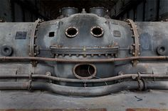 """Metropolis"" - abandoned power plant, Belgium, 2008. Photography by Thomas Jorion."