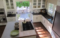 Boxwood Terrace Ina Garten S Napa Valley Kitchen Perfect Tiny With Adjoining Dining Room