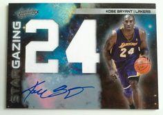 10-11 Absolute Star Gazing #1 Kobe Bryant Jersey Autograph Auto Card 19/25