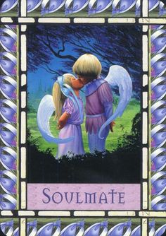 Healing With The Angels Doreen Virtue Soulmate card #love #twinflame #soulmates www.angelcardreadingsforyou Soulmate Angel Card Readings and Soulmate Energy Healing