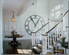 nautical + giant wall clock = gorge.