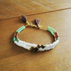 Check out this item in my Etsy shop https://www.etsy.com/listing/233514216/double-white-green-boho-summer