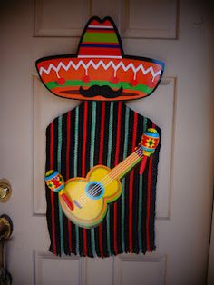 Fiesta door decoration.