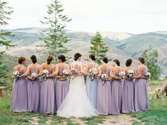 If one of your favorite dating destinations has a picture perfect scene, like the majestic mountains here, why not having your wedding there? on http://www.bridestory.com/blog/scenic-mountainside-wedding-in-colorado