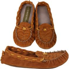 Fair Trade Moccasins | Shows that even trendy items today can be made sustainably and responsibly.