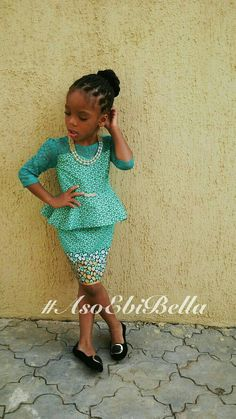 BellaNaija Weddings presents – Vol. 66 This will be cute for flower girls Ankara Styles For Kids, African Dresses For Kids, African Children, Latest African Fashion Dresses, African Print Dresses, African Print Fashion, Africa Fashion, African Babies, African Prints