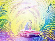 Walt Disney Alice in Wonderland's illustrations by Mary Blair