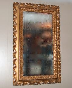 This is a gorgeous vintage/antique large ornate gold gilt carved wood Italian Baroque Neoclassical mirror. Beveled glass. Overall measurements are: 28 1/2w x 46h. You could hang vertical or horizontal. Very good condition. SHIPPING: Small home décor items will be shipped via FedEx or USPS. All items will be insured. We ensure that each item is packaged with care. Please make sure you provide us with a current shipping address. PLEASE provide a contact phone number for the shipper. T...