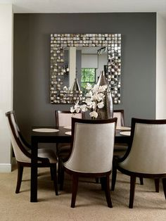 Condo Living contemporary dining room. Contemporary Decor | Luxury Design | Modern Design | Unique Design | Boca do Lobo | Find amazing furniture in www.bocadolobo.com