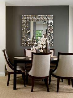 Condo Living contemporary dining room