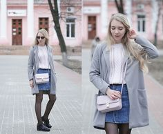 Get this look: http://lb.nu/look/8192829  More looks by Lena: http://lb.nu/kazakova  Items in this look:  Cn Direct Coat   #casual #minimal #preppy #details #elegant #girlish #simple #feminine #style