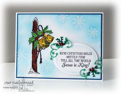 ODBDSLC264 Our Daily Bread Designs Stamp sets: Sparkling Snowflakes, Jingle Bells, Our daily Bread Designs Custom Dies:Splendorous Stars, Stitched Ovals, Lovely Leaves