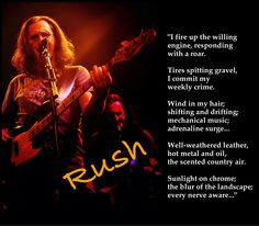 From my all-time favorite Rush song....