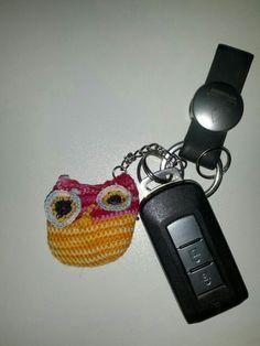 Porta chiavi gufetto