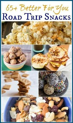 Who says road trips need to be all about the junk food? Healthy road trip snacks are possible with a little pre-planning and this Better For You Road Trip Snacks Roundup of recipe ideas so you can eat healthier while on the road! Find it here: http://www.mealplanningmagic.com/healthy-road-trip-snacks-roundup/ #roadtriprecipes #healthyroadtripfood