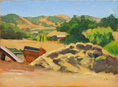 Raphael Schnepf Adventures in plein aire: Quick studies from Sonoma trip