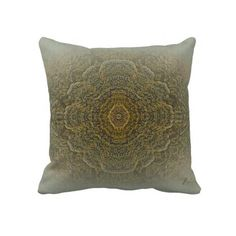 """""""AND THEN WE SAW IT"""" mandala pillow"""