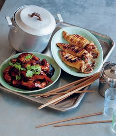 Grilled squid recipe from The Real Food of China by Antony Suvalko | Cooked