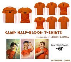 Camp halfblood tshirts