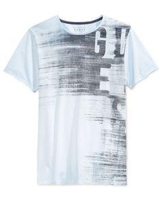 8b98e5ee9d2 GUESS Men s GES Subliminal Graphic-Print T-Shirt Men - T-Shirts - Macy s
